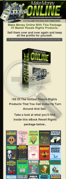 155 Resell Rights Money Making Ebooks preview. Click for more details