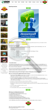 2knowmyself Coaching Service preview. Click for more details
