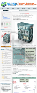 82%OFF: Setslav_Scalper_S#1 is a scalping EA developed specifically for working on real accounts preview. Click for more details