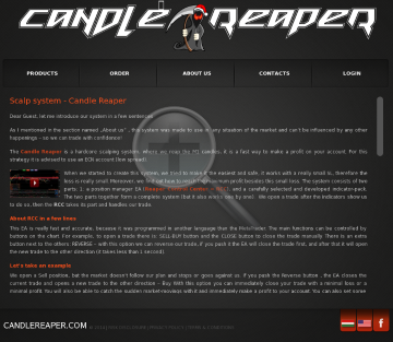 Candle Reaper - M1 scalping system 3 licenses + RCC preview. Click for more details