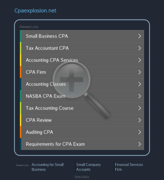 CPA Explosion Software preview. Click for more details