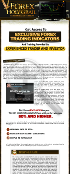 Forex Holy Grail - Professional Forex Trading Course preview. Click for more details