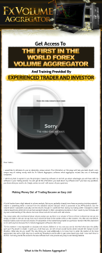 FX Volume Aggregator Forex Trading System preview. Click for more details
