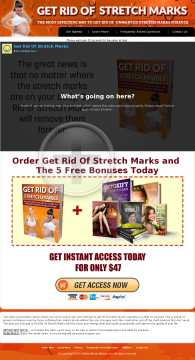 Get Rid of Stretch Marks preview. Click for more details