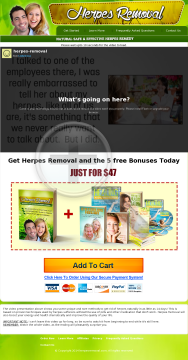 Herpes Removal preview. Click for more details