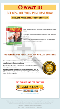 Home Herpes Revolution Discount preview. Click for more details