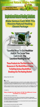 Inspirational Natural Healing Solutions preview. Click for more details