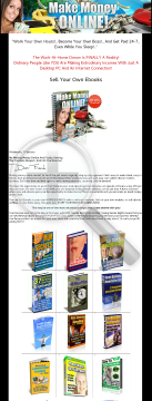 Make Money Online Sell Your Own Ebooks preview. Click for more details