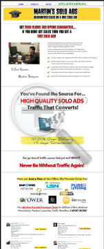 MARTINS PROFIT SOLO ADS - GET 2000+ CLICKS/500+ OPTINS GUARANTEED preview. Click for more details