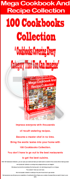 Mega Cookbook And Recipe Collection preview. Click for more details