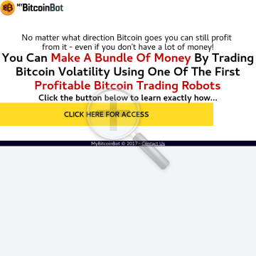 MyBitcoinBot preview. Click for more details