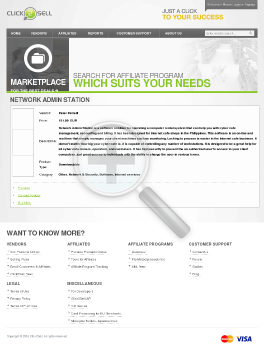 Network Admin Station preview. Click for more details