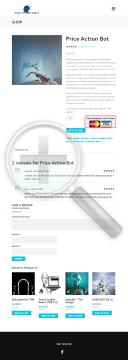 Price Action Bot preview. Click for more details
