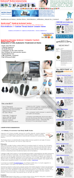 Quantum Therapy Analyzer Computer System Medicomat-291 preview. Click for more details