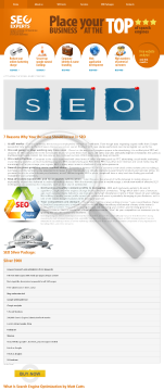 SEO - Silver Package preview. Click for more details