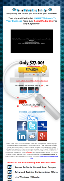 SNBpro Lead Generation Software preview. Click for more details