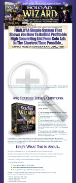 Solo Ad Wizard preview. Click for more details