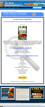 The Super Guide To Superfoods preview. Click for more details