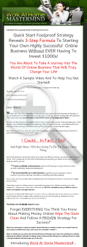 Work at Home Mastermind Videos preview. Click for more details